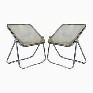 Lucite Plona Chair by Giancarlo Piretti for Castelli, 1970s