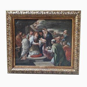 Óleo sobre lienzo, 1700