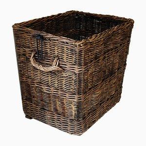 Large Industrial Wicker Mill Basket