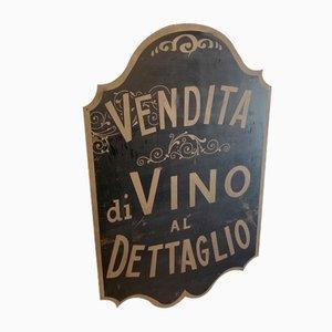 Schild von Wines & Oils, 1900er