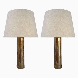 Lampes de Bureau B-09 de Bergboms, Suède, 1960s ou 1970s, Set de 2