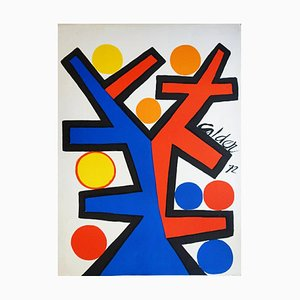 Lithographie Calder Asymmetry, 1972, Alexander Calder