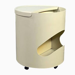 White Robo Side Table by Joe Colombo for Elco, 1970s