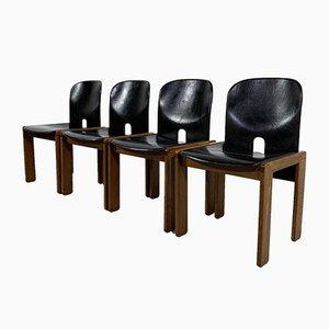 Modell 121 Stühle von Afra & Tobia Scarpa für Cassina, 1960er, 4er Set