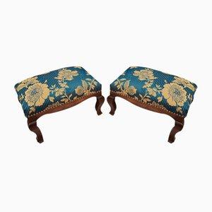 Louis XV Style Stools, Set of 2