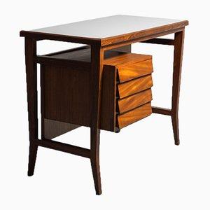 Schreibtisch aus Holz von Gio Ponti für Schiralli Design, 1960er
