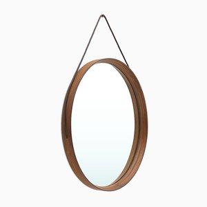 Round Mirror by Uno & Östen Kristiansson for Luxus, 1960s
