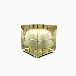 Cubosfera Table Lamp by Alessandro Mendini for Fidenza Vetraria, 1969