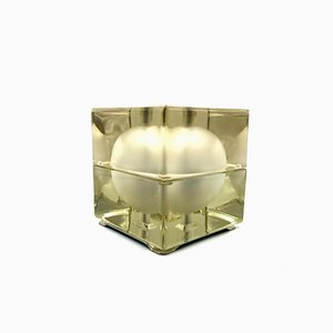Cubosfera Tischlampe von Alessandro Mendini für Fidenza Vetraria, 1969