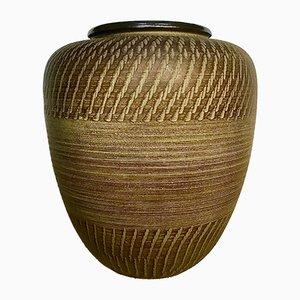 Large German Ceramic Floor Vase from Dümler & Breiden, 1950s