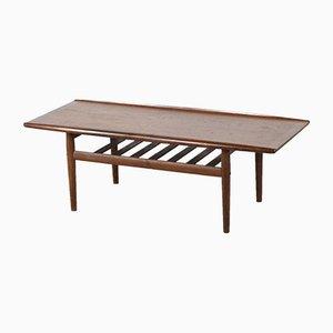 Table Basse en Teck par Finn Juhl pour France & Son / France & Daverkosen, Danemark, 1960s