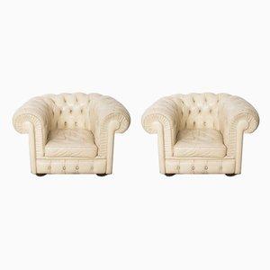 Armlehnstühle im Chesterfield Stil, 2er Set