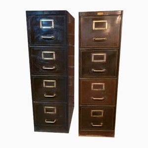 Filing Cabinet from Roneo, Set of 2