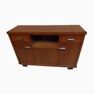Dutch Art Deco Oak Buffet Cabinet
