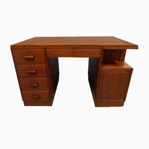 Niederländischer Jugendstil Schreibtisch aus Eiche