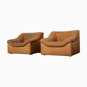 DS-46 Buff Chairs from De Sede, 1980s, Set of 2