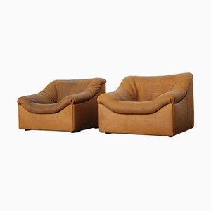 DS-46 Buff Chairs von De Sede, 1980er, 2er Set