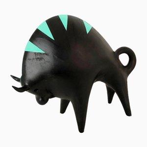 Sculpture Bison par Roberto Rigon, Italie