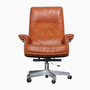 Chaise de Bureau DS-35 en Cuir de De Sede
