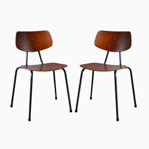 Mid-Century Modernist Dining Chairs, Set of 2