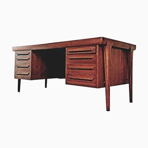 Large Mid-Century Danish Rosewood Executive Desk from Faarup Møbelfabrik, 1960s