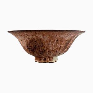 Schale aus Glasiertem Steingut, Spätes 20. Jh
