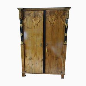 Empire Walnut Cabinet, 1810s