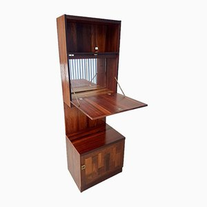 Mid-Century Rosewood Wall Unit by Nils Jonsson for Troeds