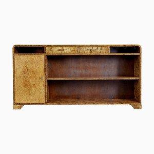 Mid 20th-Century Scandinavian Birch Bookcase from SMF Bodafors