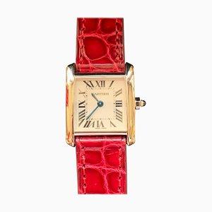 Französische Damenuhr von Cartier