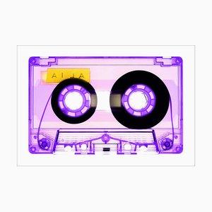 Tape Collection, Aila Purple, Pop Art Color Photograph, 2021
