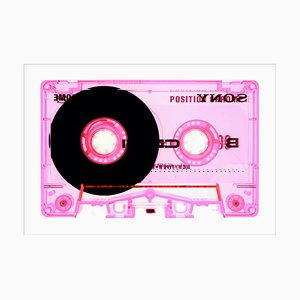 Tape Collection, Type II Pink, Pop Art Color Photograph, 2021
