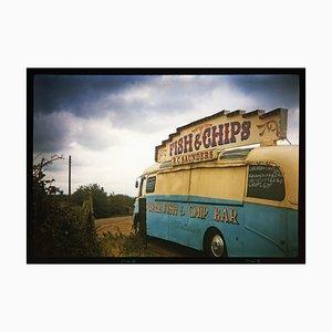 Fish & Chip Van, Haddenham, 1993, Farbfoto, 1999