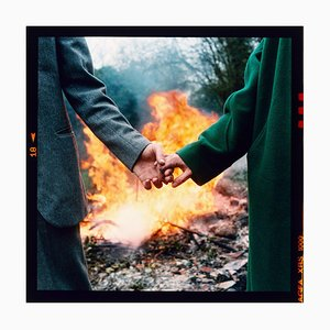 Shon & Stephanie, Cambridgeshire, Photographie Couleur, 1997