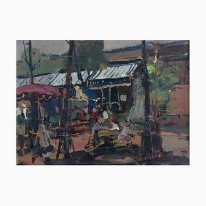Walter Mafli, Place du Marché et Terrasse, 1959