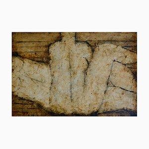John Emanuel, Horizontal und Vertikal, Figuratives Ölgemälde