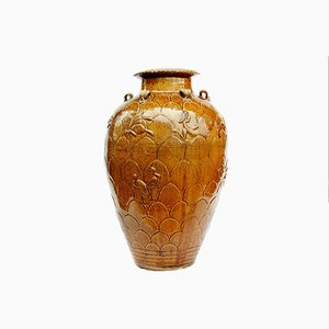 Large Antique Chinese Pottery Jug