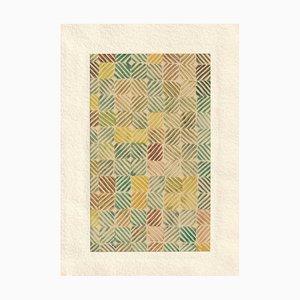 1950, Linocut, Pattern