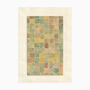 1950, Linolschnitt, Muster