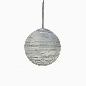 Large Glass Ball Globe Ball Lamp from Doria