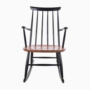 Rocking Chair Scandinave par Roland Rainer pour Hagafors Stolfabrik