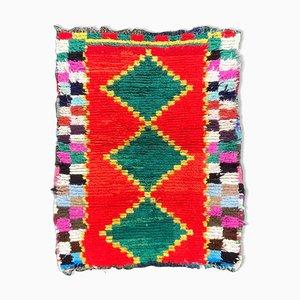 Marokkanischer Boucherouite Teppich