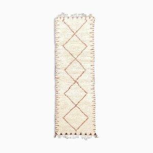Berber Beni Ourain Corridor Carpet, 1990s