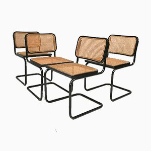 Vintage Chairs, 1980s, Set of 4