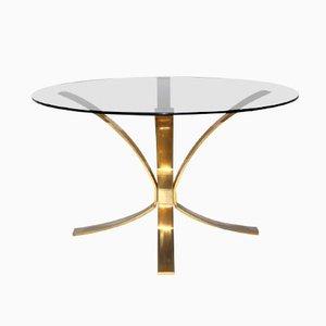 Tavolino da caffè rotondo di Roger Sprunger per Dunbar Furniture