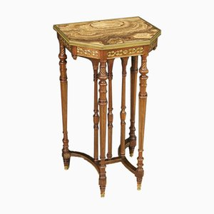 Side Table with Onyx Top