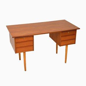 Dänischer Vintage Teak Schreibtisch, 1960er