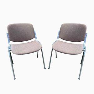 DSC 106 Stühle von Giancarlo Piretti für Castelli, 2er Set