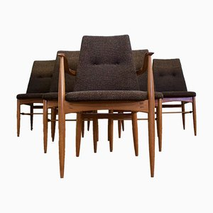 Teak Dining Chairs from Vanson, 1960s, Set of 6