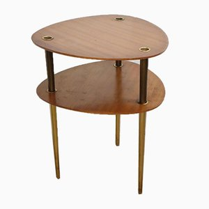 Vintage Stackable Nesting Tables by Pierre Cruège, 1950s, Set of 2